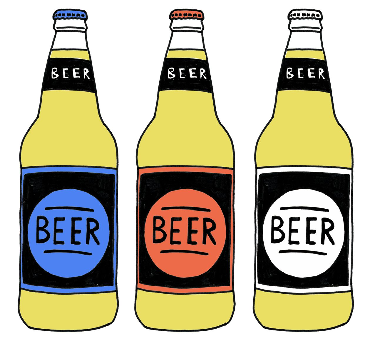 beer clipart bottle