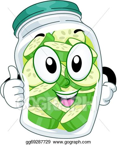 pickle clipart gangster
