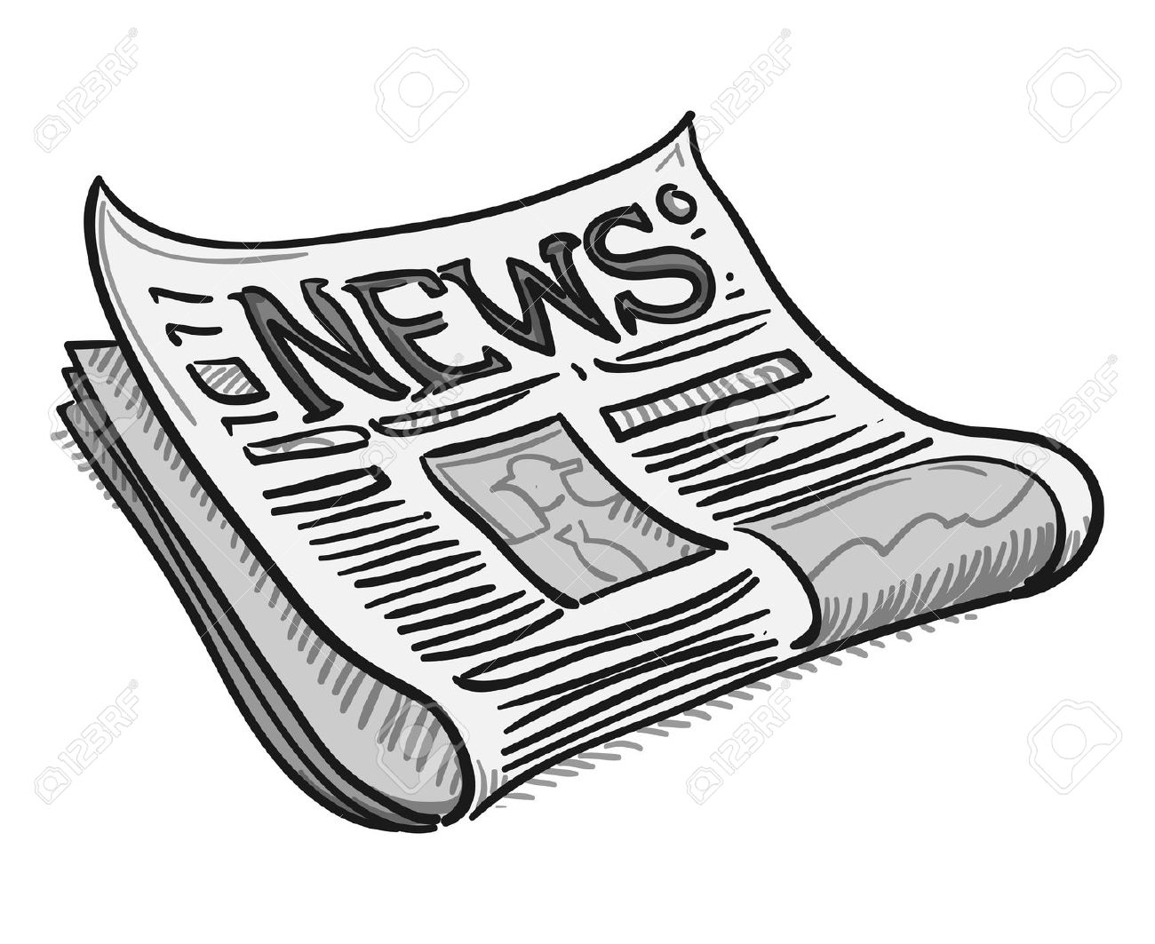 news clipart cartoon