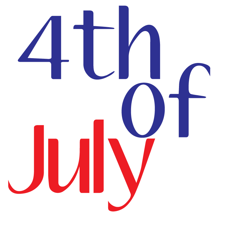 July clipart 4th july.