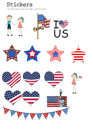 us clipart printable