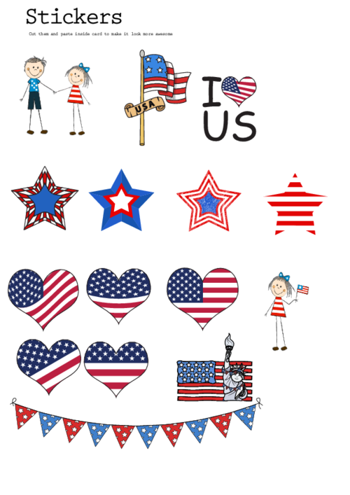 sticker clipart printable