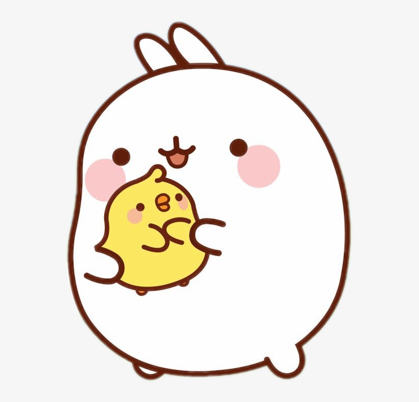 Kawaii clipart molang.