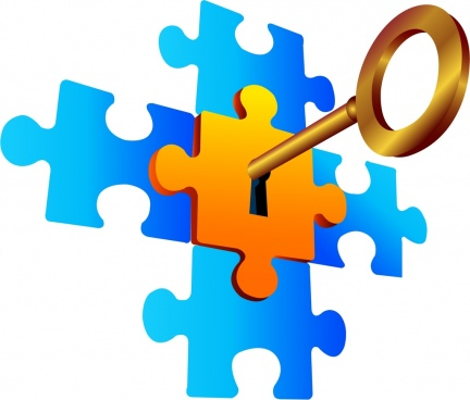 Puzzles clipart background.