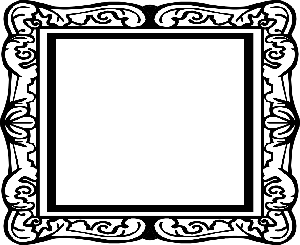 picture frame clipart