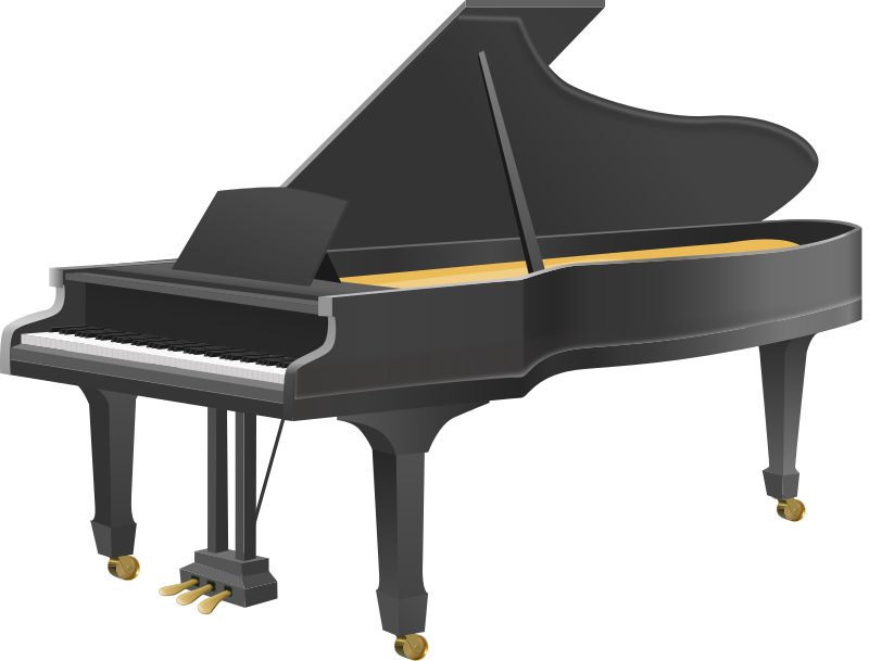 piano clipart transparent