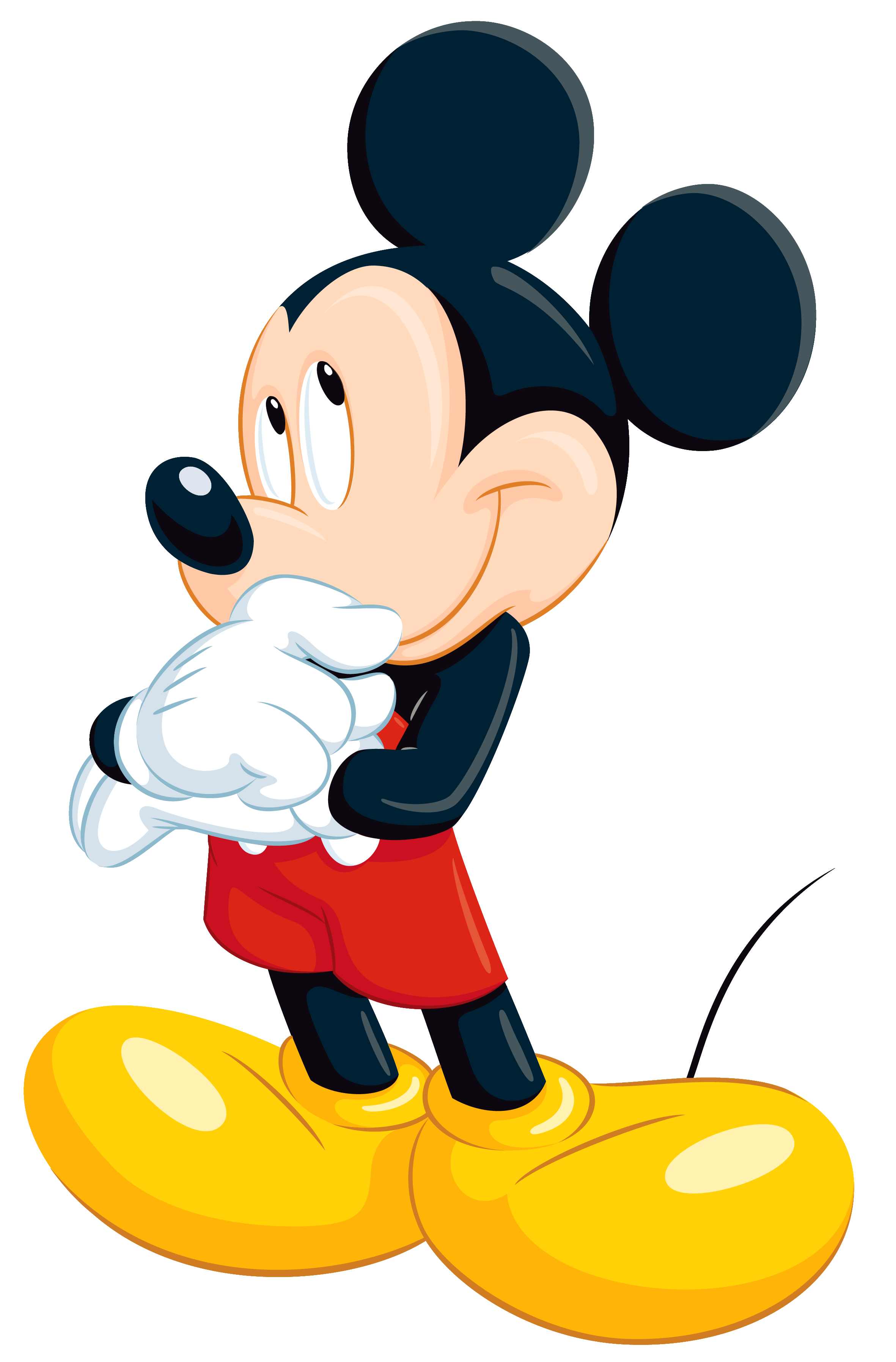 skeleton clipart mickey mouse