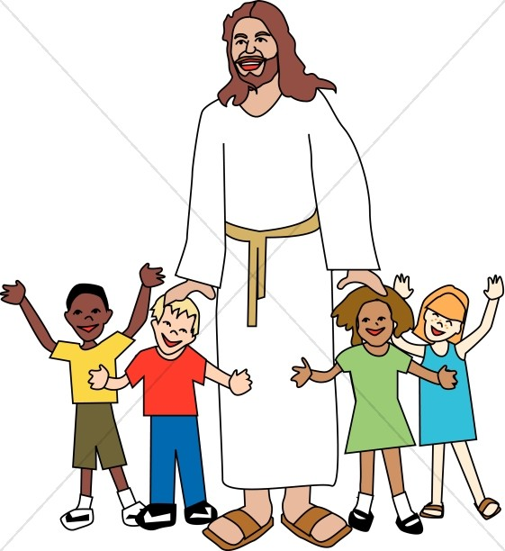 Religious clipart kids.