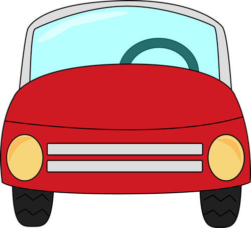 Tricycle clipart little red. Car clip art image