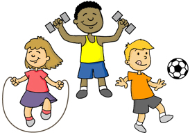 physically clipart physical education