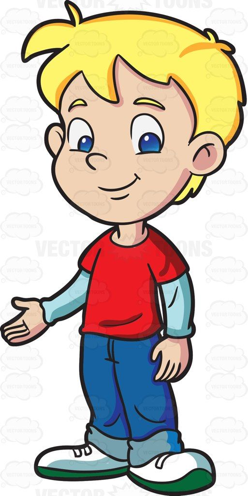 cool clipart boy