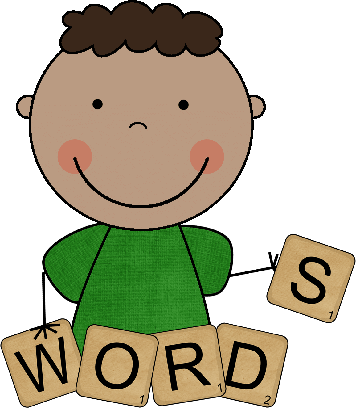 word work clipart study