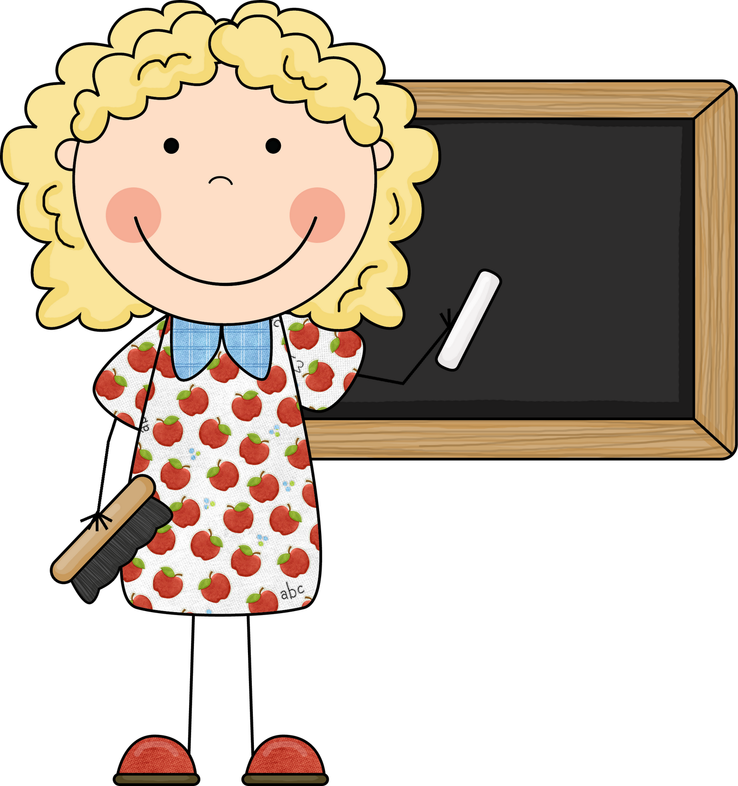 professor clipart happy