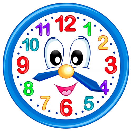 time clipart cartoon