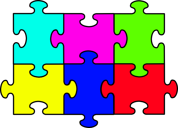 puzzle clipart cartoon