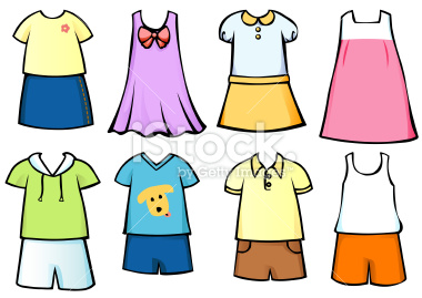 Clothes clipart library.