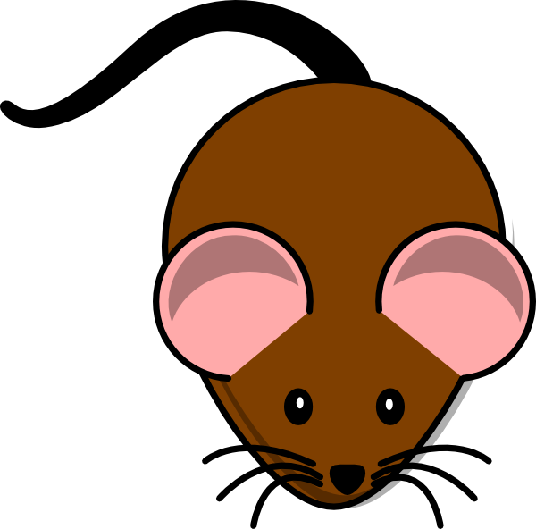 clipart mouse simple