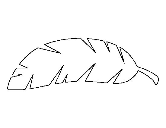 Leaves clipart leaf template.