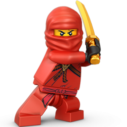 ninja clipart red