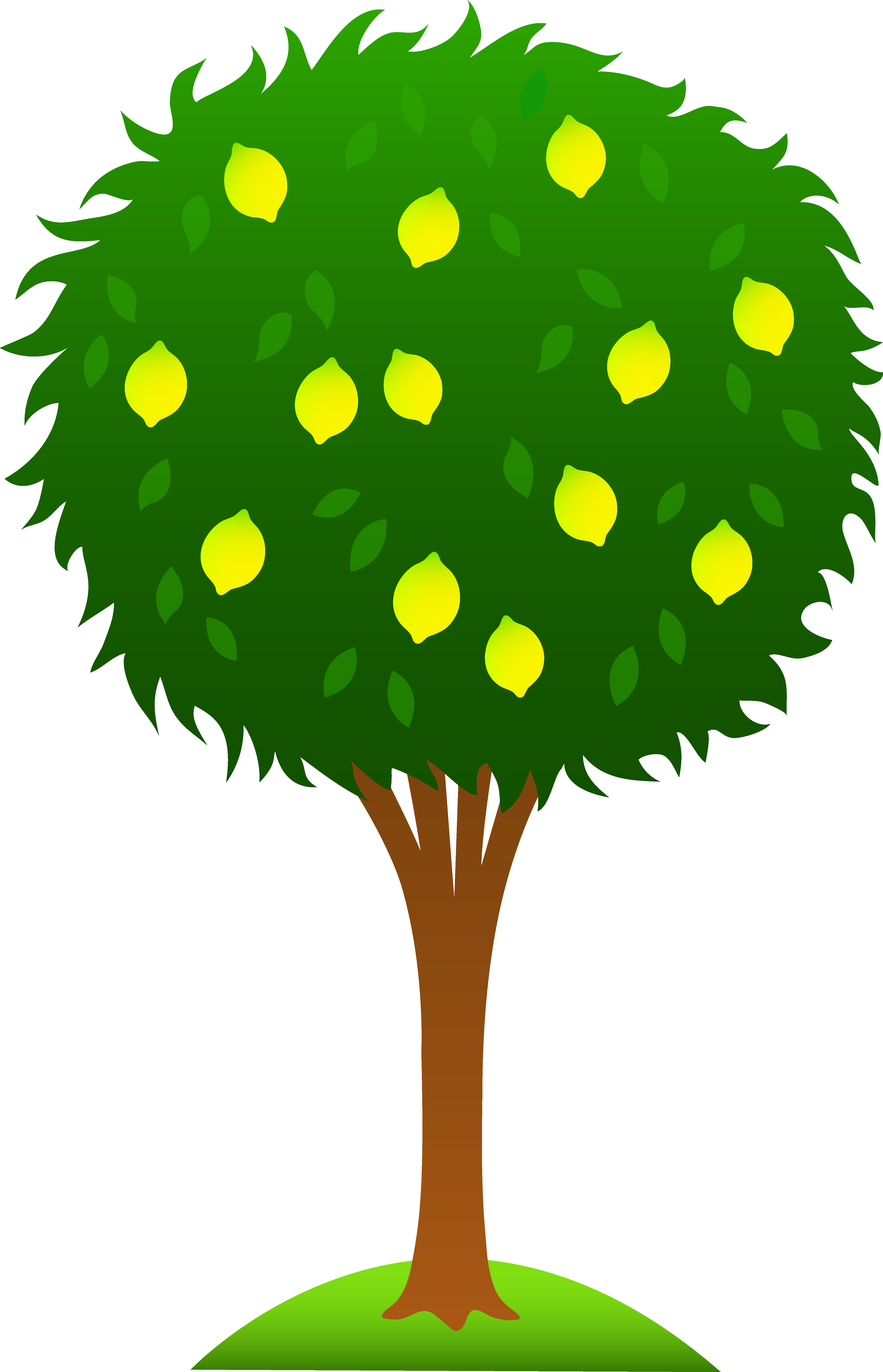 free tree clipart cute