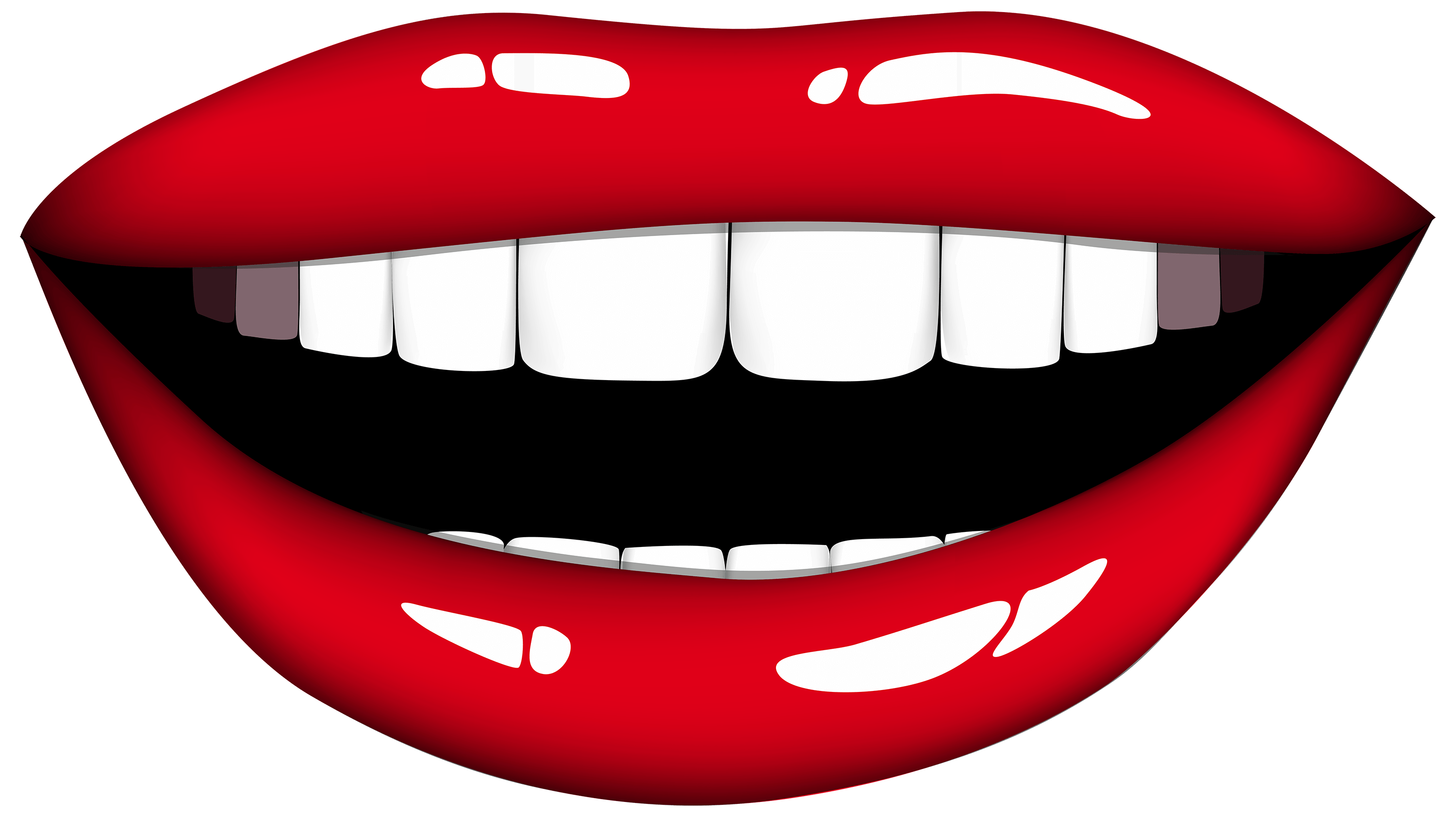 mouth clipart realistic