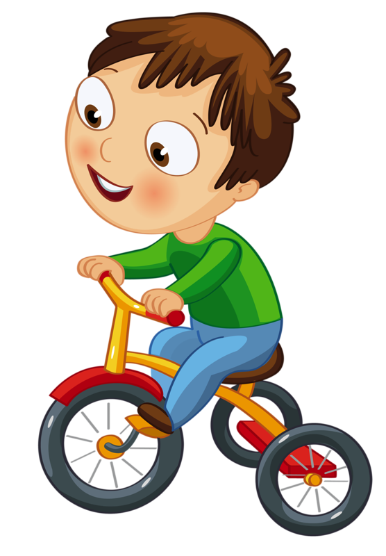 Bicycle clipart child.