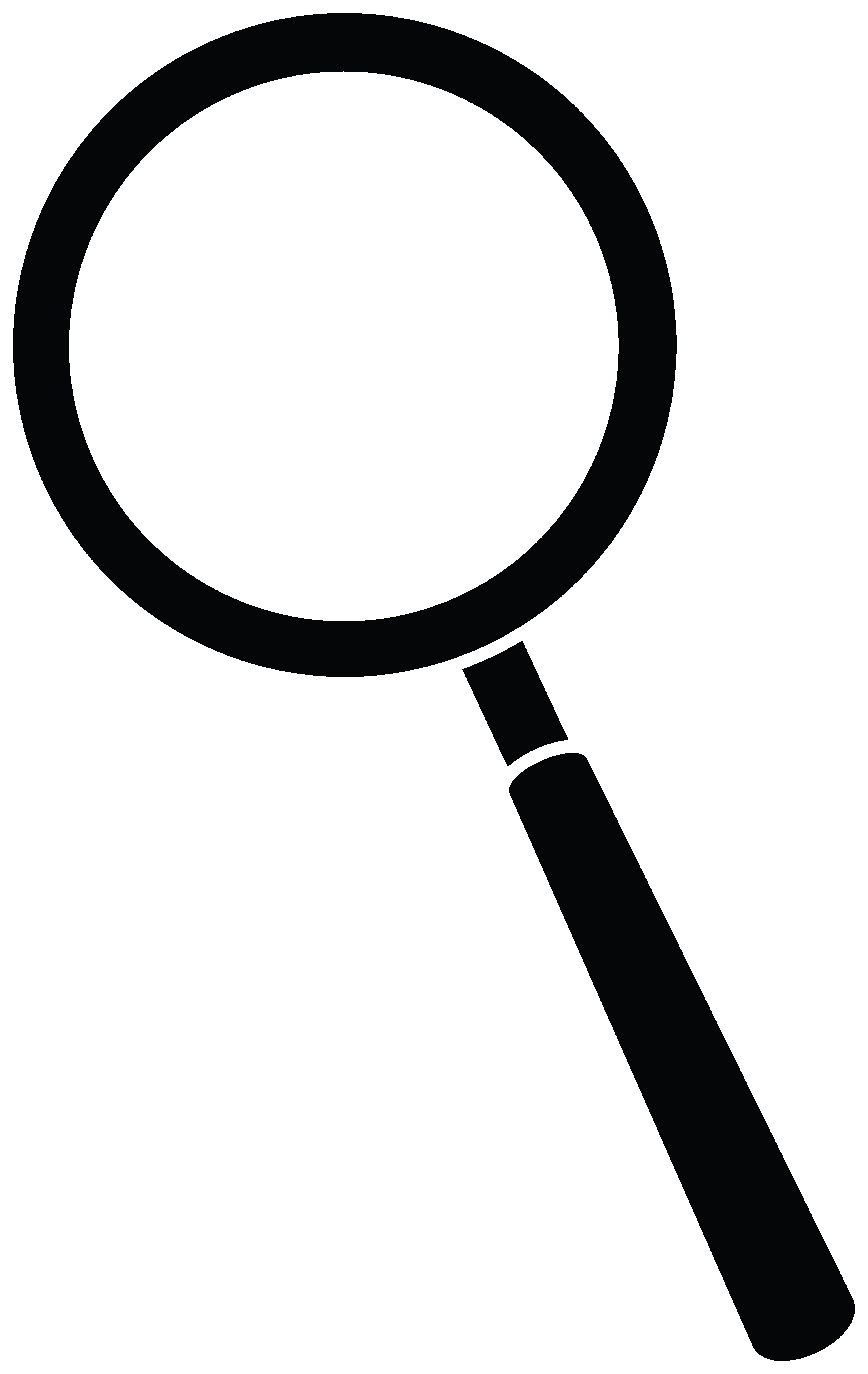 review clipart magnifying glass