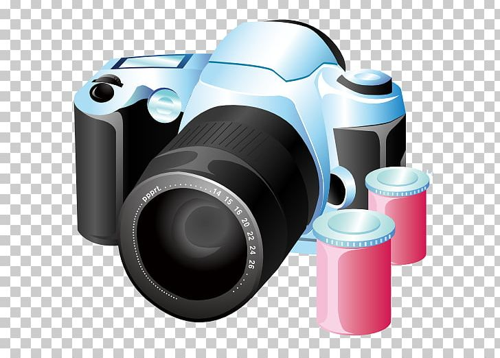 Lens clipart movie camera.
