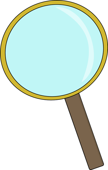 Scientist clipart magnifying glass.