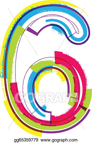 Circle clipart colorful grunge.
