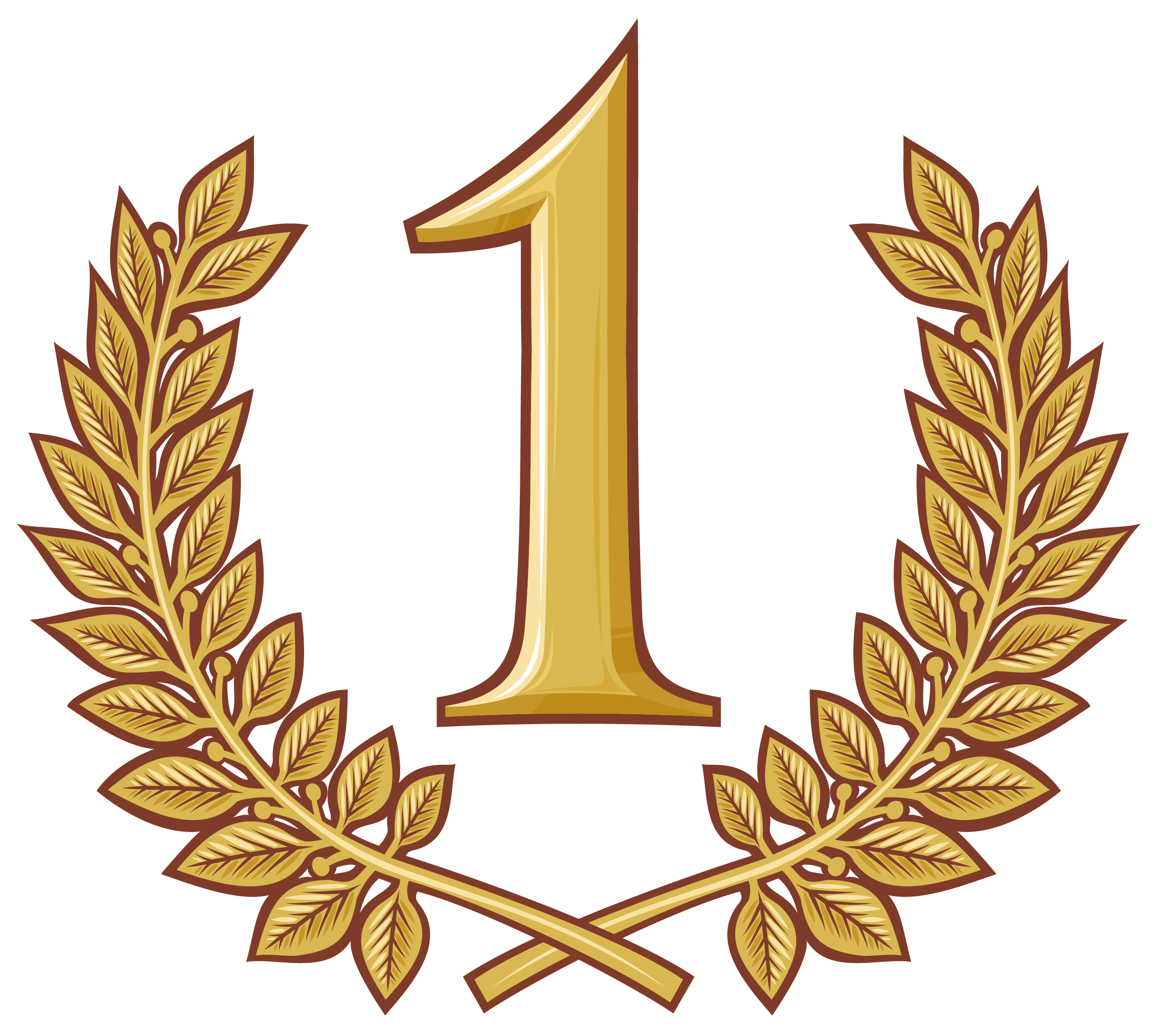 trophy clipart first place