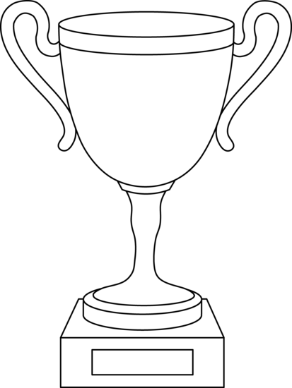 trophy clipart white