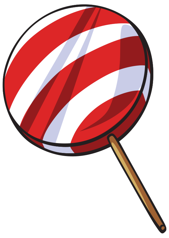 Lollipop clipart eight.