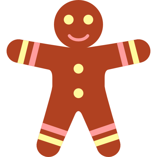 gingerbread clipart simple