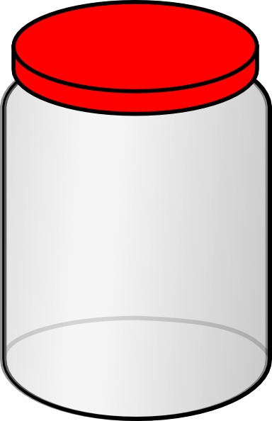 jar clipart clear