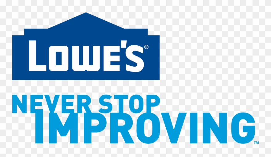 lowes logo clipart flat