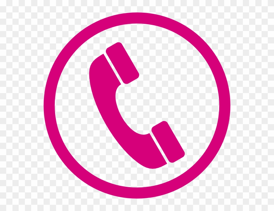 phone clipart pink