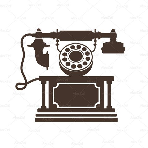 lphone clipart retro