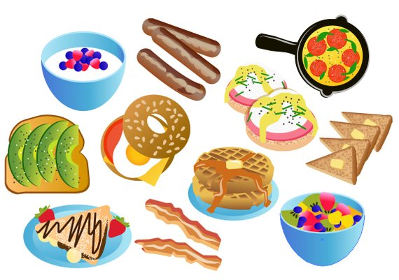 Lunch clipart breakfast.