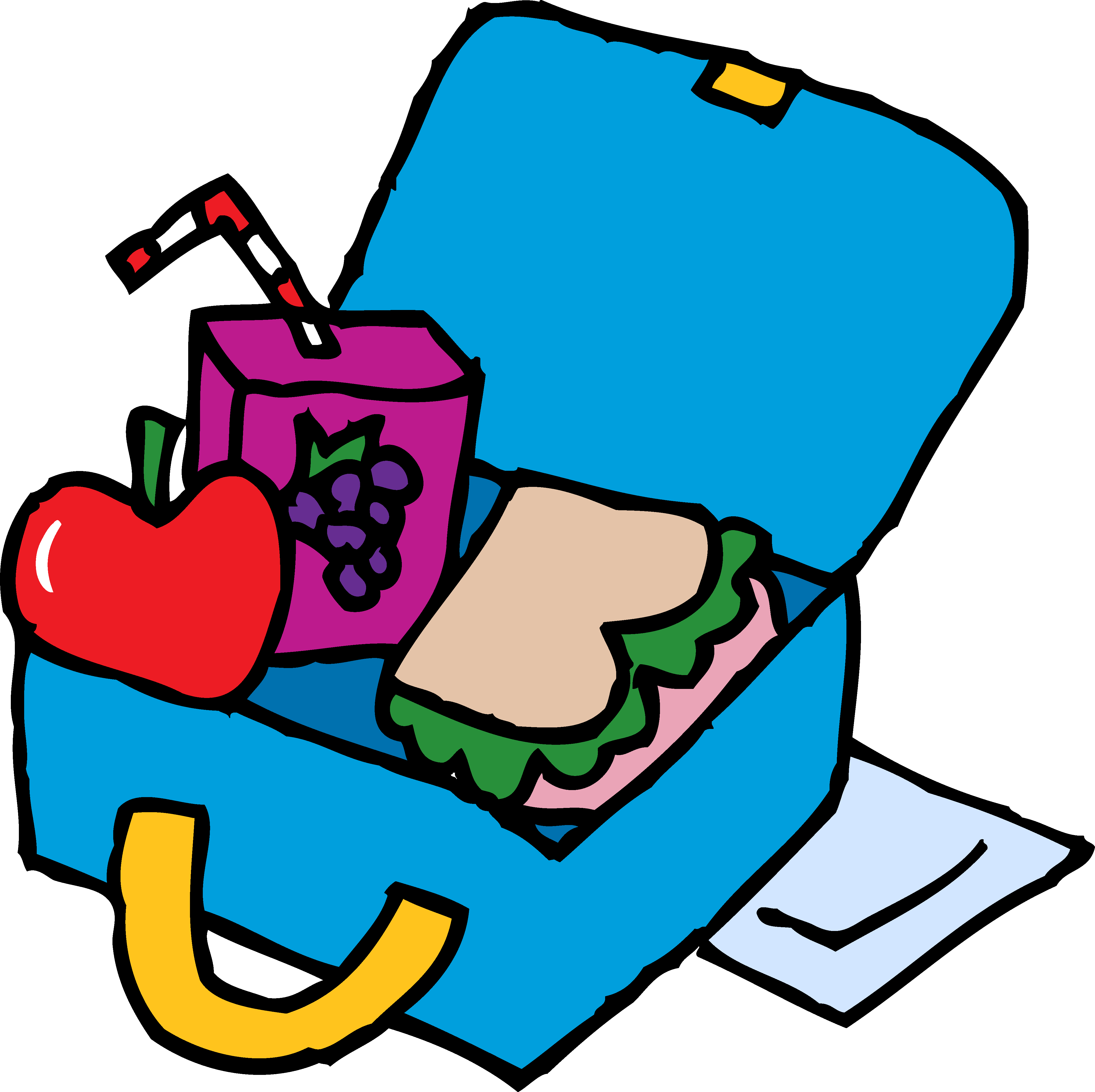 clipart lunch transparent background