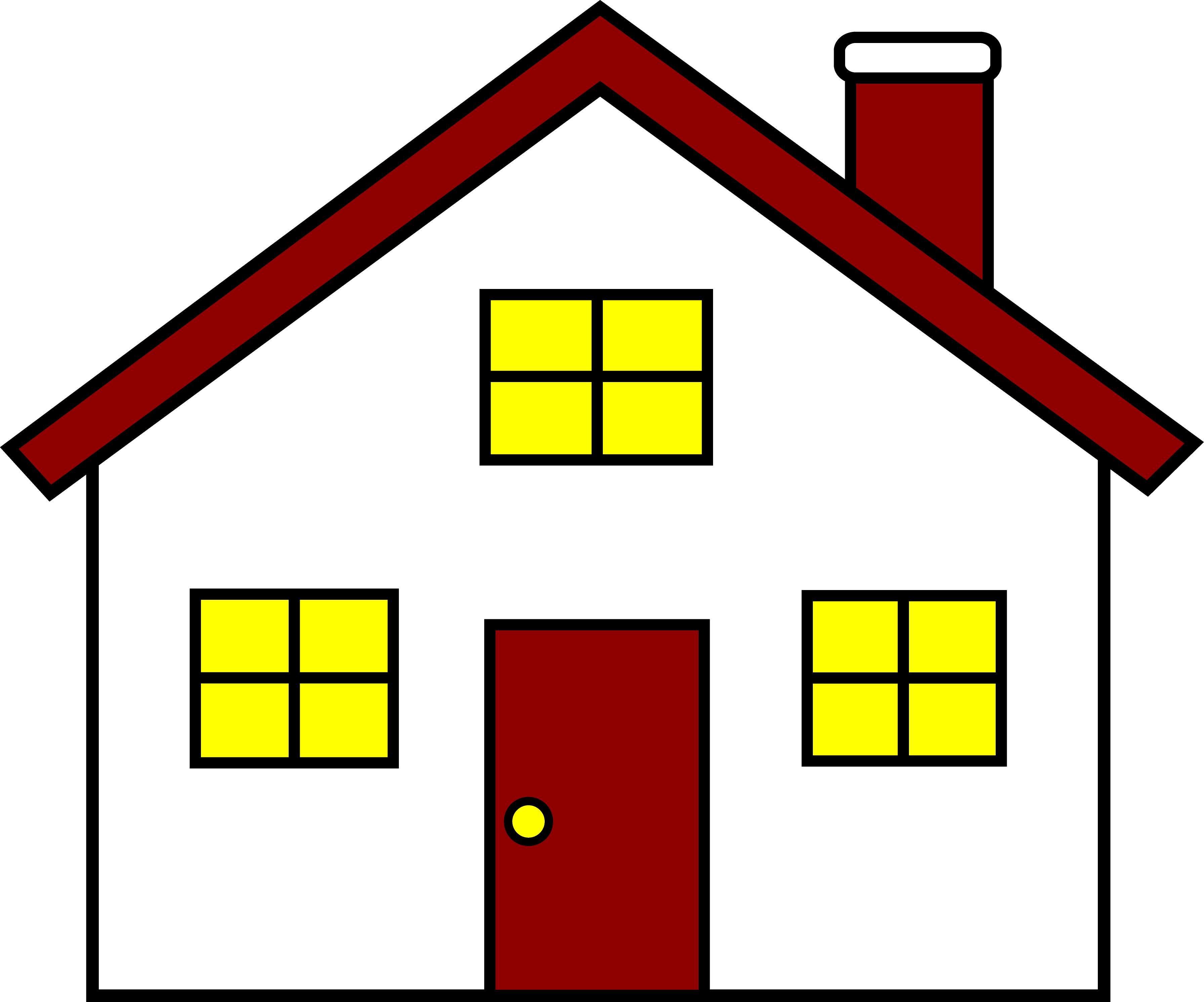 house clipart family
