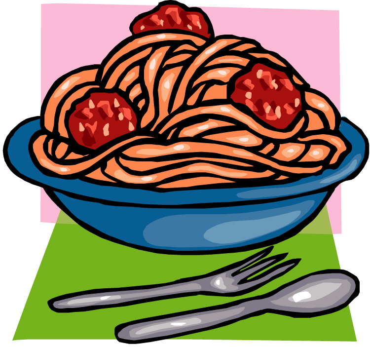 Pasta clipart pasta lunch.