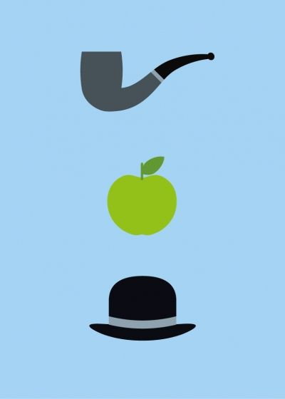magaritte clipart magritte paintings