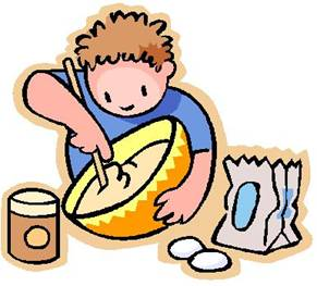 cooking clipart boy