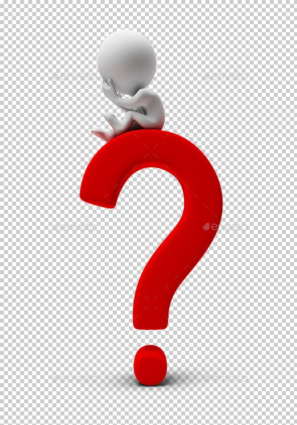 Manager clipart person question mark.