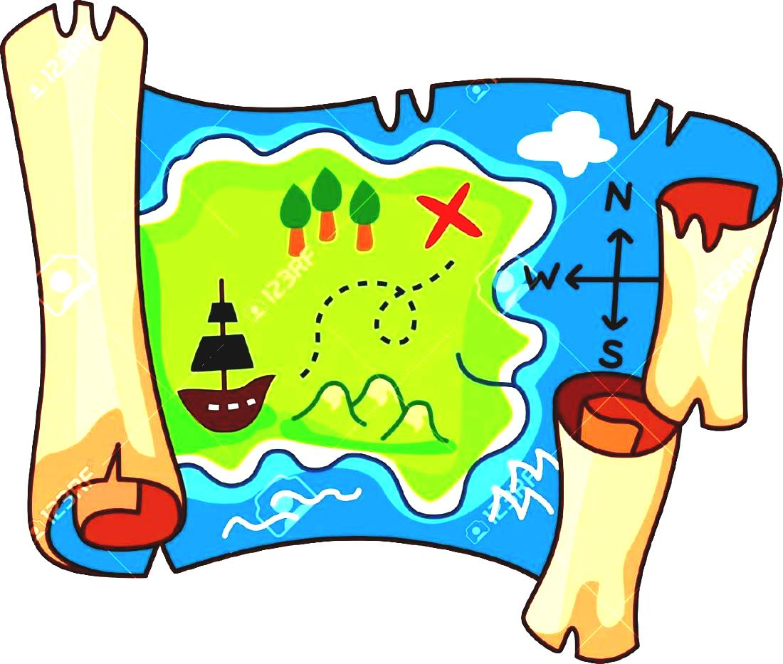 Map clip art printable.