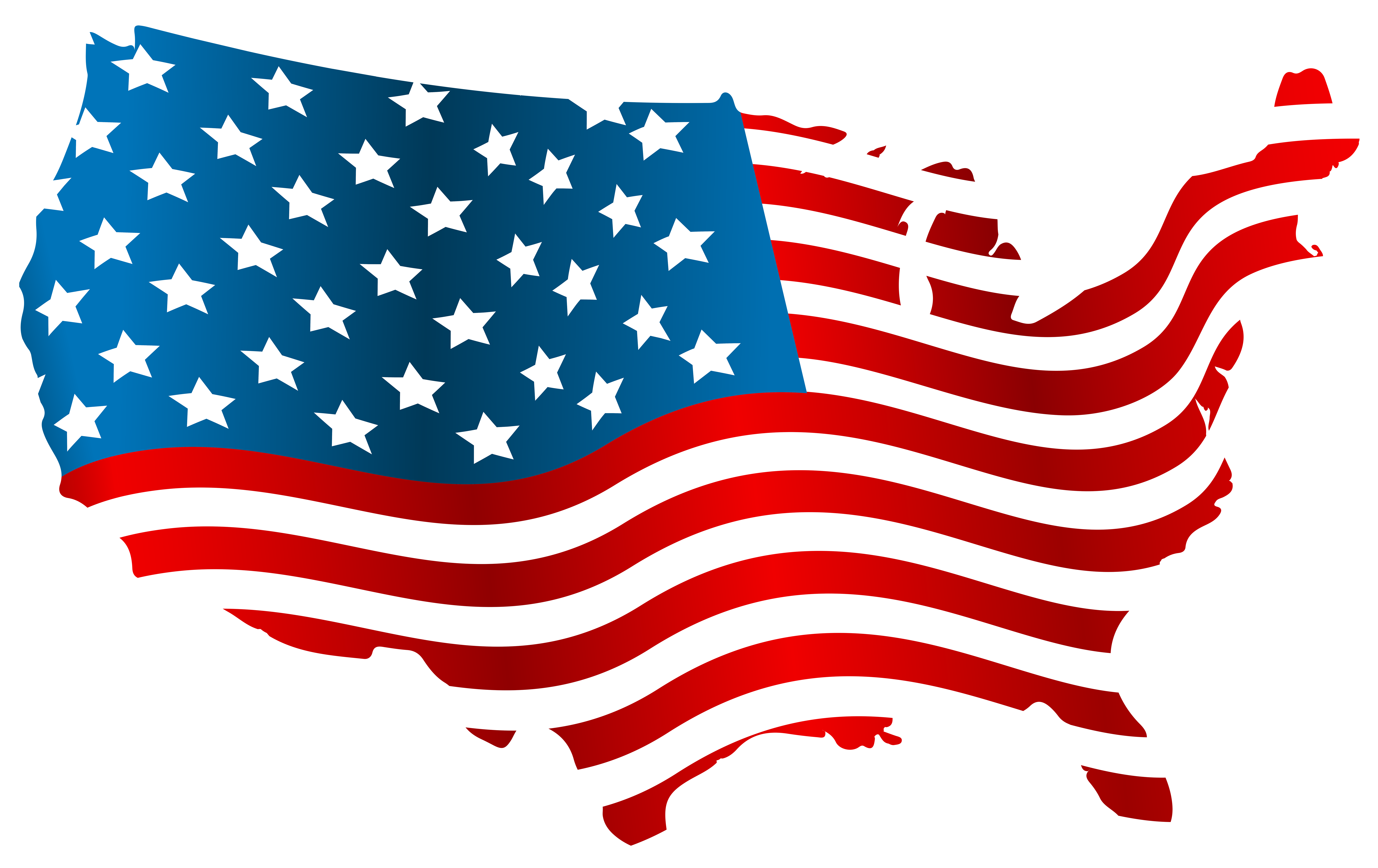 united states clipart flag