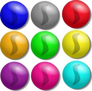 marbles clipart animated