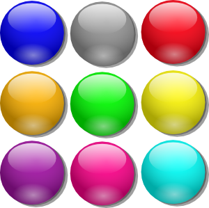 marbles clipart blue marble