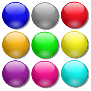 marbles clipart colored pencil